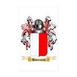 Bonnineau Sticker (Rectangle 50 pk)