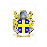 Bonniface Sticker (Rectangle 10 pk)