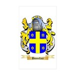 Bonniface Sticker (Rectangle 50 pk)