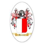 Bonnier Sticker (Oval 50 pk)