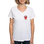Bonnici Women's V-Neck T-Shirt