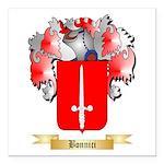 Bonnici Square Car Magnet 3