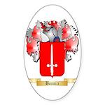 Bonnici Sticker (Oval 50 pk)