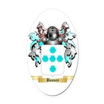 Bonney Oval Car Magnet