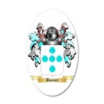 Bonney 35x21 Oval Wall Decal