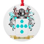 Bonnett Round Ornament