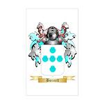 Bonnett Sticker (Rectangle)