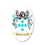 Bonnett 35x21 Oval Wall Decal