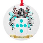 Bonnet Round Ornament