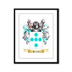 Bonnet Framed Panel Print