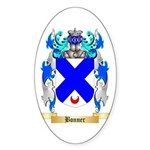 Bonner Sticker (Oval 10 pk)