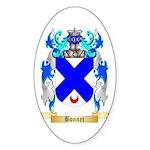 Bonner Sticker (Oval 50 pk)