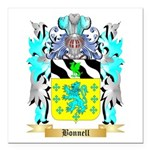 Bonnell Square Car Magnet 3