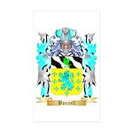 Bonnell Sticker (Rectangle 50 pk)