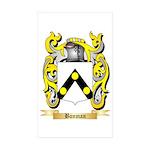Bonman Sticker (Rectangle 50 pk)