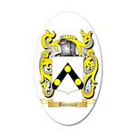 Bonman 35x21 Oval Wall Decal