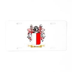 Bonito Aluminum License Plate