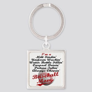 Baseball_Mom Keychains