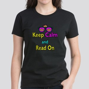 Crown Sunglasses Keep Calm And Read On Women's Dar