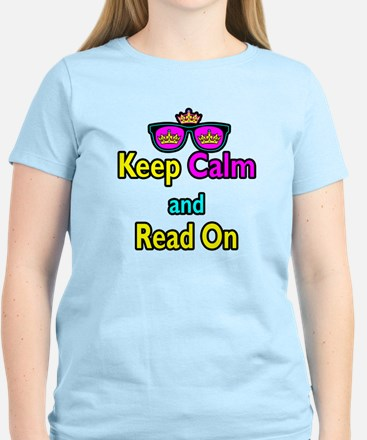Crown Sunglasses Keep Calm And Read On Women's Lig