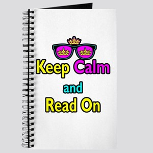 Crown Sunglasses Keep Calm And Read On Journal