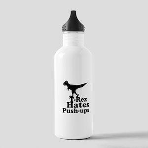 T-Rex Hates Push Ups 1 Water Bottle