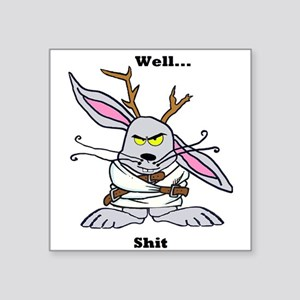 Crazy Jackalope Sticker