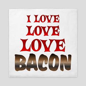 Love Love Bacon Queen Duvet