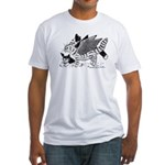 Winged Nearcats! Fitted T-Shirt