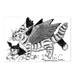 Winged Nearcats! Postcards (Package of 8)