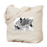 Winged Nearcats! Tote Bag