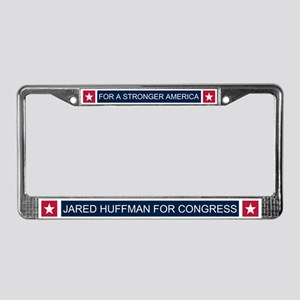Elect Jared Huffman License Plate Frame