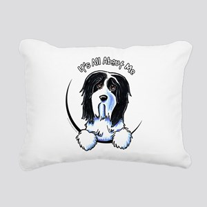 Bearded Collie IAAM Rectangular Canvas Pillow