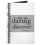 Only The Daring Discover Journal