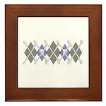 Argyle Jolly Roger Framed Tile