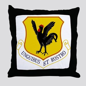 18th Fighter Wing Throw Pillow