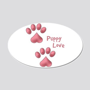 Puppy Love Wall Decal
