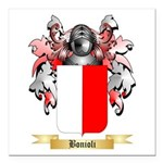 Bonioli Square Car Magnet 3