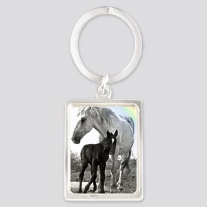 Mare Colt High Contrast Keychains
