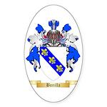 Bonilla Sticker (Oval 50 pk)