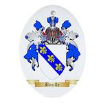 Bonilla Ornament (Oval)