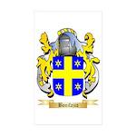 Bonifazio Sticker (Rectangle 50 pk)