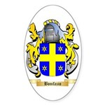 Bonifazio Sticker (Oval)