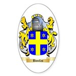 Bonifas Sticker (Oval 10 pk)