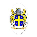 Bonifacio Oval Car Magnet