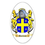 Bonifacio Sticker (Oval 10 pk)