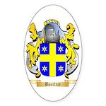 Boniface Sticker (Oval 10 pk)