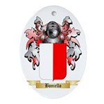 Boniello Ornament (Oval)