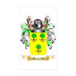 Bongardt Sticker (Rectangle 50 pk)