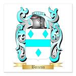 Boness Square Car Magnet 3